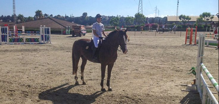 MIUC´s second-year student Castora Ortiz wins the Grand Prix for show jumping