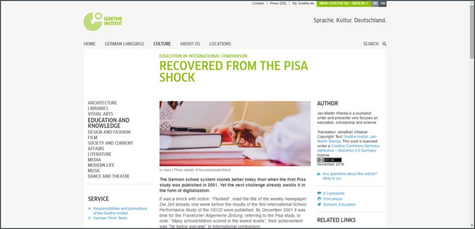 Recovered from the pisa shock