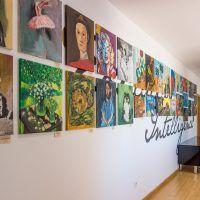 MIUC Art Exhibition Paintings