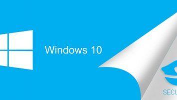 Windows 10 Security Settings