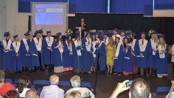 Laude Graduation Class of 2016 with MIUC Council Speaker