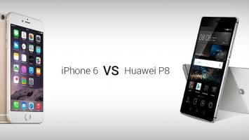 iPhone 6 vs Huawei P8
