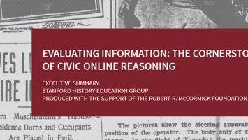 Digital natives: Time for media literacy to be back in the spotlight?