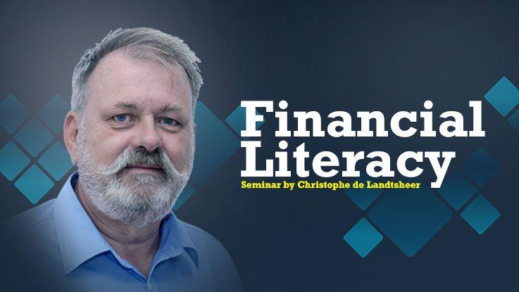 Financial Literacy seminar by Christophe de Landtsheer