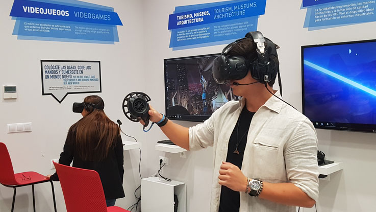 MIUC visit to Virtual Reality Lab