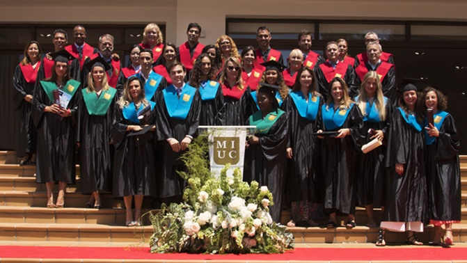 Marbella International University Centre Commencement Ceremony 2018