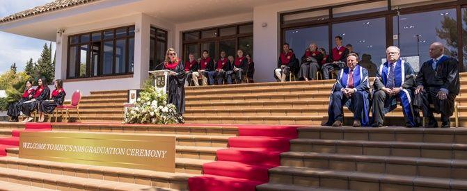 Marbella International University Centre Graduation Ceremony 2018