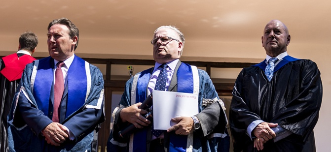 UWL at Marbella International University Centre Commencement Ceremony 2018