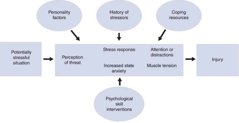 The role of stress in sports injury